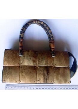 Coco Bag Beaded Handle