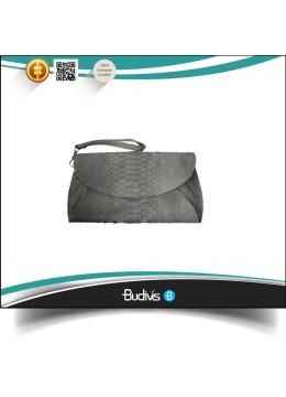 Manufactured Real Leather Python Handbag