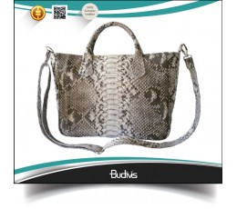 High Quality Genuine Exotic Python Skin Handbag