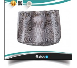High Quality 100% Genuine Exotic Python Skin Handbag
