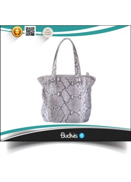 High Quality Guaranteed 100% Genuine Exotic Python Skin Handbag