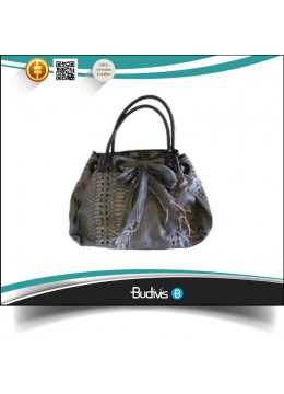 High Quality Top Model Genuine Exotic Python Skin Handbag