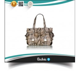 2016 Top Model Genuine Exotic Python Skin Handbag