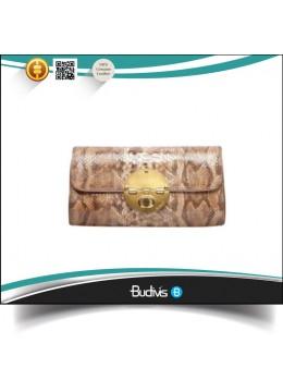 In Handmade For Sale Top Model Genuine Exotic Python Skin Handbag