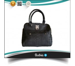 2016 High Quality Genuine Exotic Python Skin Handbag