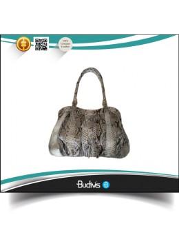 Affrodable Genuine Exotic Python Skin Handbag