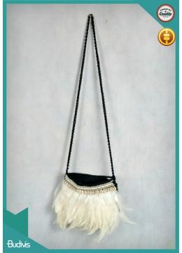Top Model Bali Bohemian Feather Bag Wholesale