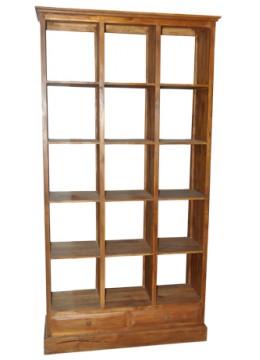 Display 15 hole Teak Furniture