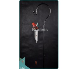 Relaxing Sound Rooster Aluminium Wind Chimes