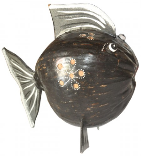Coconut Fish Coconut Wood
