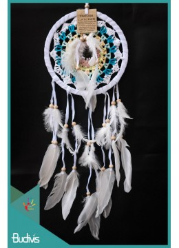 Dream Catcher Multi Colour With Feather On The Center