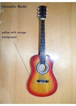 Miniature Guitar Acoustic