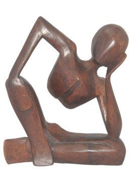 Wood Carving Abstract romance