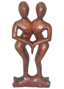 Wood Carving Abstract Dance