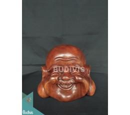 Animal Wood Carved Yogi Face Manufacture