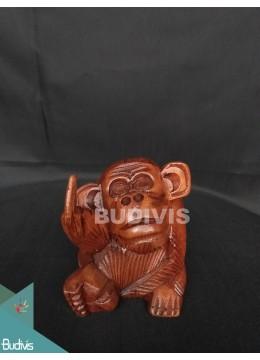 Bali Wholesale Wood Carved Fucking Mongkeyproduction