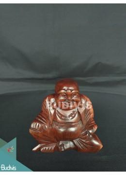 Bali Wholesale Wood Carved Yogi Sitting Production