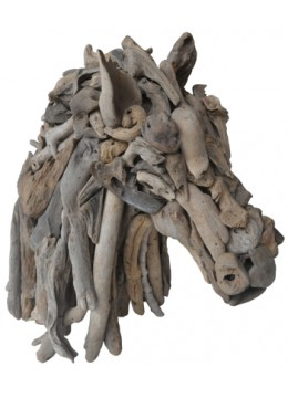 Head Horse Recycled Driftwood