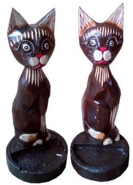 Cat Card Statue