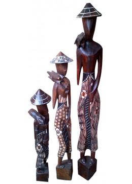 People Statue set of 3