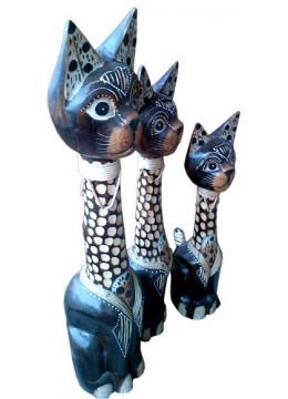 Cat Statue set of 3