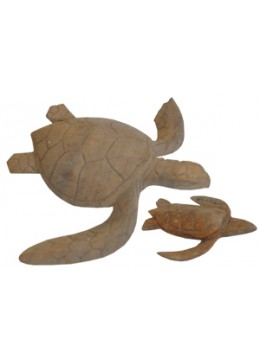 Wood Carving Turtle