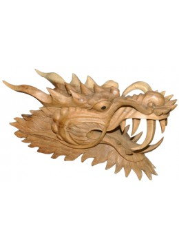 Wood Carving dragon head