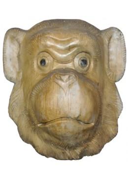Wood Carving Mask Monkey