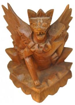 Wood Carving Eagle Wisnu
