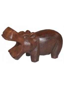 Wood Carving Hippopotamus