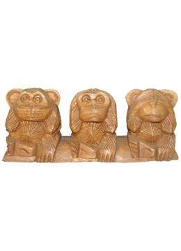 Wood Carving Monkey