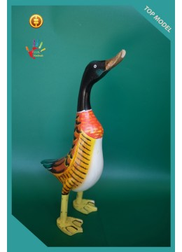 Wholesale Full hand Painted Wood Duck