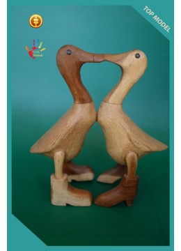 For Sale Ornament Natural Couple Wood Duck