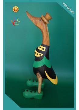 Top Model Semi Painted Wood Duck
