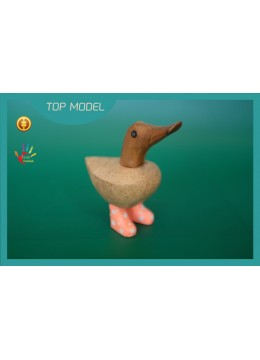 For Sale NEW! Factory Price Baby Wood Ducks Interior Ornament