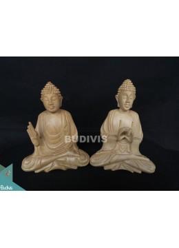 High Quality Wood Carved Set Buddha Factory