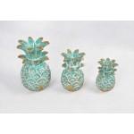 Pineapple Wood Carved Indor / Outdor Decoration