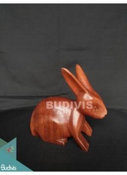 Top Sale Wood Carved Rabbit Direct Artisans