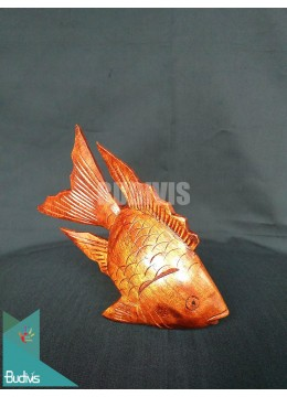 High Quality Wood Carved Fish Factory