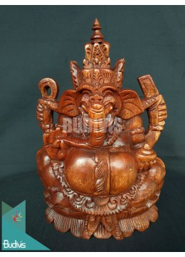 Best Seller Wood Carved Top Ganesha From Indonesia