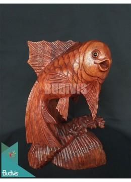 Bali Wholesalewood Carved Fish Production