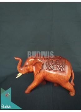 Top Sale Wood Carved Thai Elephant Direct Artisans