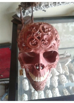 Skull With Util Carving
