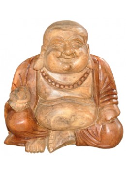 Wood Carving Antique Buddha