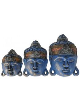 Mask set of 3 Buddha