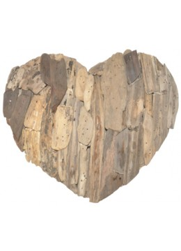 Heart Recycled Driftwood