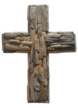 Cross Recycled Driftwood
