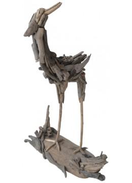 Bird Decor Recycled Driftwood