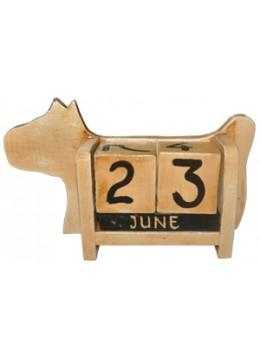 Box Calendar Dog Decor
