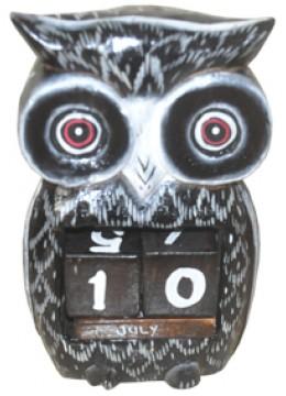 Owl Home Decor Set Calendar